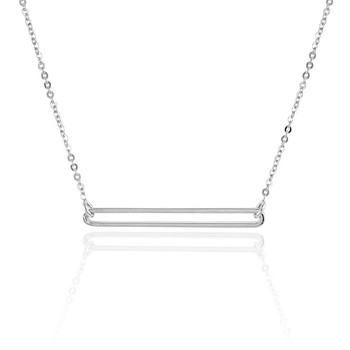 Collier en argent - multicolore