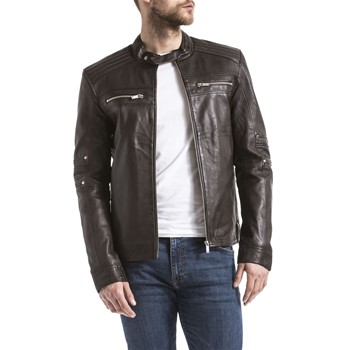Blue Wellford - Blouson en cuir - marron