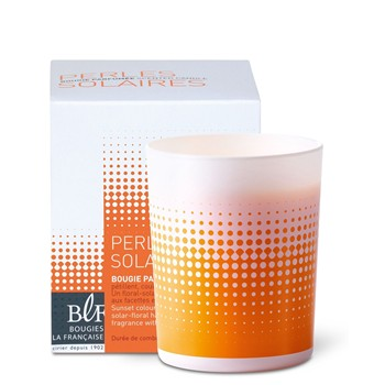 Coffret bougie parfumée - orange