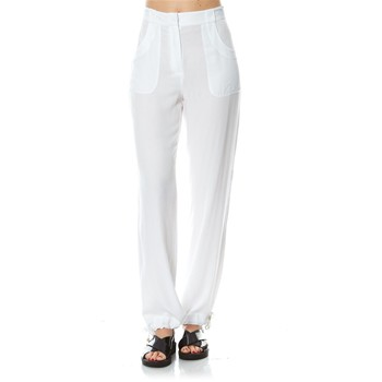 Sunset beach - Pantaloni homewear - bianco