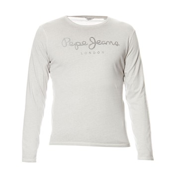 Pepe Jeans London - Battersea LS - T-shirt - gris clair - 1900172