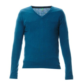 Benetton - Pull col V - canard - 1928990
