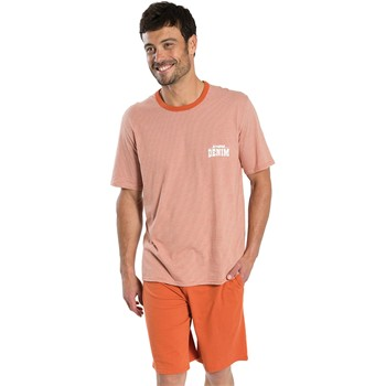 Athena - West - Pyjama court - orange - 2211803