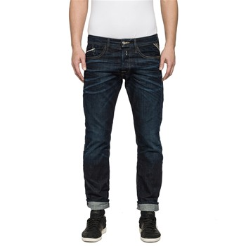 Waitom - Jean slim - denim azul
