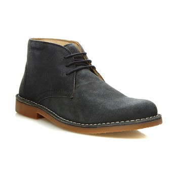 Hush Puppies - LORD - Derbies en cuir - bleu marine - 2041766