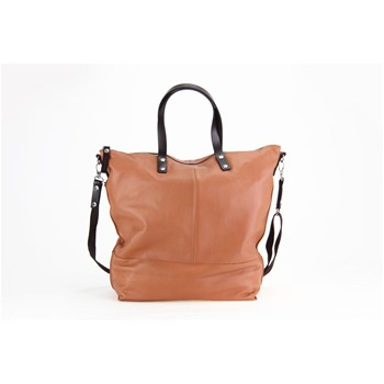 Aromatic - Shopping bag in pelle - cognac