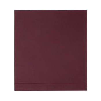 Iconic - Drap plat - bordeaux