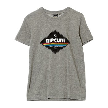 Rip Curl - Mc Diamond ss - T-shirt - gris - 2074089