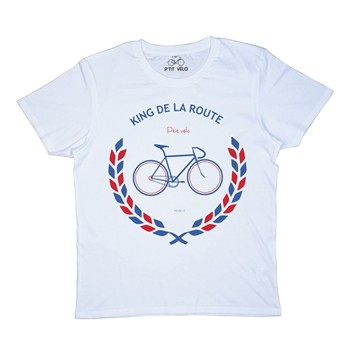 King de la route - T-shirt - blanc