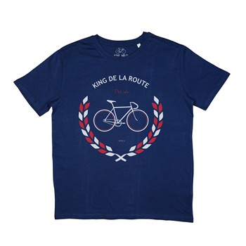 King de la route - T-shirt - bleu marine