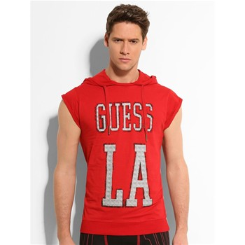 Guess - No pain No glory - Sweat-shirt - rouge - 1654110