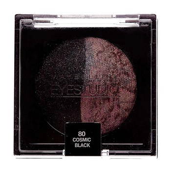 Gemey Maybelline - Eye Studio - Ombre à paupières duo - 80 Cosmic Black - 2194432