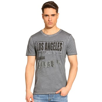 Guess - Magnetic Man - T-shirt - gris - 1614622