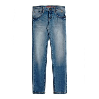 Guess Kids - Jean slim - denim bleu - 2233144