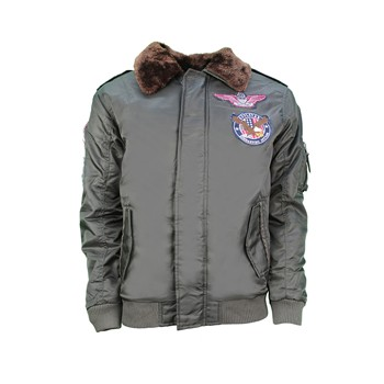 MJ Flybo Badge - Bombers - kaki