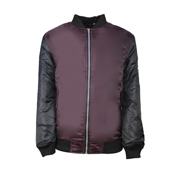 MJ Maztek Plain - Bombers - bordeaux