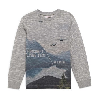 Monoprix Kids - Sweat-shirt - gris chine - 2235350