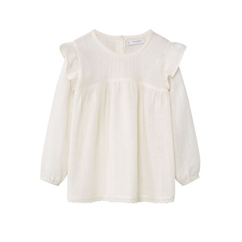 Mango Kids - Blouse - ecru - 2220799
