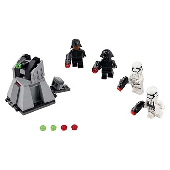 Pack combat du 1er ordre star wars - Jeux de construction - multicolore