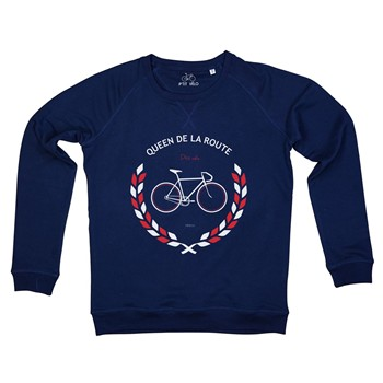 Queen de la route - Sweat-shirt - bleu marine