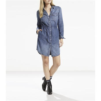 Iconic Western - Robe - denim bleu