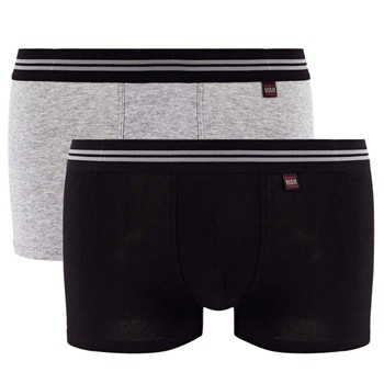 Gentleman - Lot de 2 boxers - bicolore