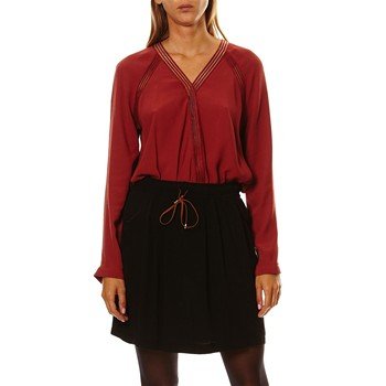 Montrouge - Blouse - rouge