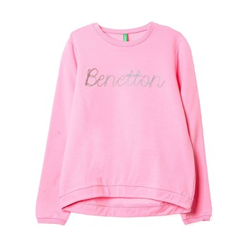 Sweat-shirt imprimé - rose