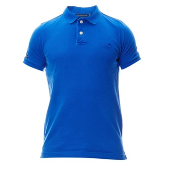 Superdry - Polo - bleu