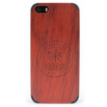 Woodstache - Coque pour iPhone 5-5S et SE Crush - rouge - 2253136