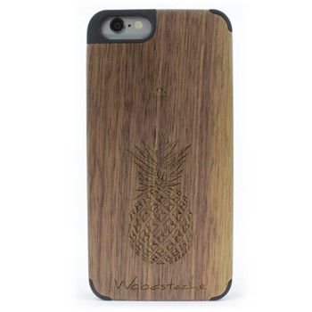 Woodstache - Tropical - Coque pour iPhone 6 et 6S - marron - 2253193