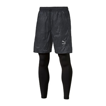 Evo Embossed Layered - Short - noir