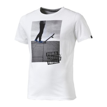 Style - T-shirt manches courtes - blanc