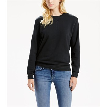 Sweat-shirt en coton - noir