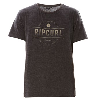 Rip Curl - Mc Rounded ss tee - T-shirt - gris - 2074093