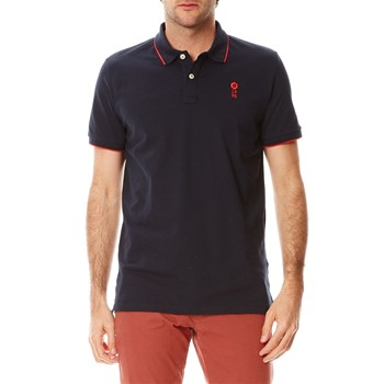 Polo-Shirt - marineblau