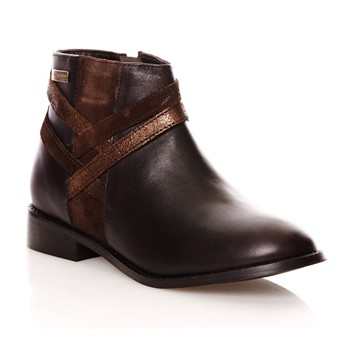 Maggic - Bottines en cuir - marron