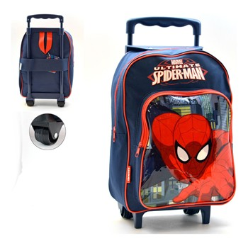 Disney - Spiderman - Mochila con ruedas - multicolor