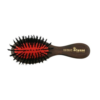 Brosse antistatique de sac à main - marron