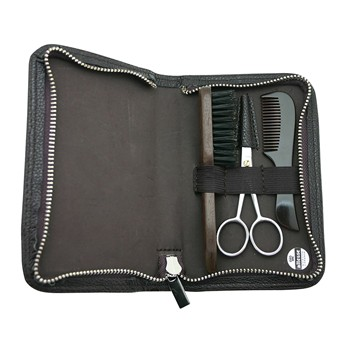 Trousse de barbier - marron