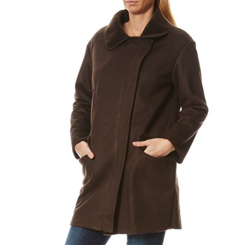 Manteau en peau de mouton - marron