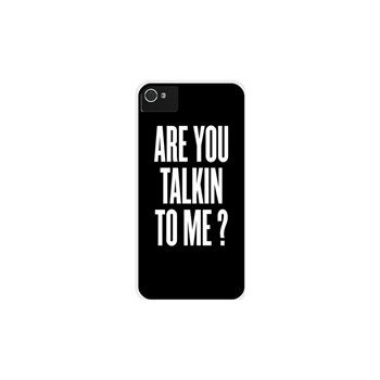 Are you talkin to me ? - Coque pour iPhone 4/4S - blanc