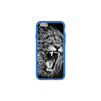 Lion's water - Coque pour iPhone 6/6S - bleu