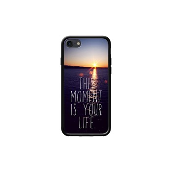 This moment is your life - Coque pour iPhone 7 - noir