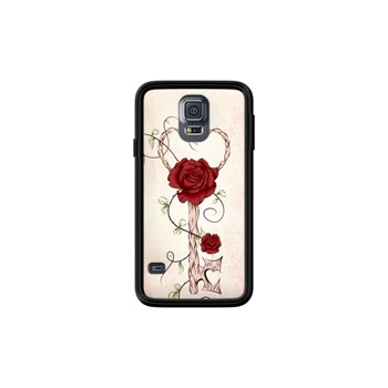 Key Of Love - Coque pour Samsung Galaxy S5 - noir