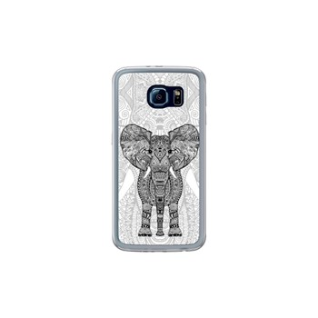 Aztec elephant - Coque pour Samsung Galaxy S6 - transparent