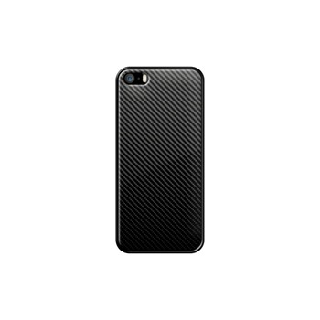 Carbon Protection - Coque pour iPhone 5/5S/SE - noir