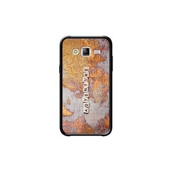 Adventure map - Coque pour Samsung Galaxy J5 - noir