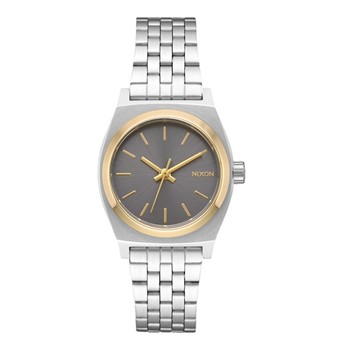 Small Time Teller - Montre femme - Argent / Or / Gris