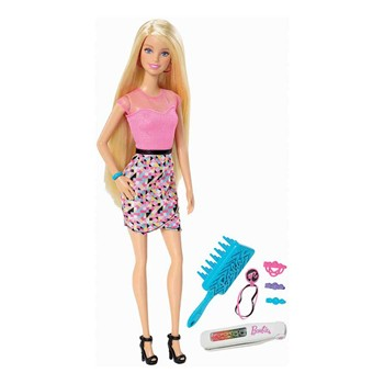 Barbie chevelure Arc en ciel